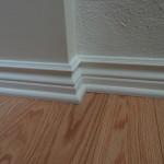 Quality baseboard installation