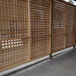 Custom  cedar privacy screen