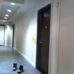 Condo Hallway trim