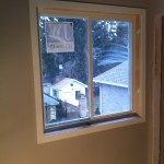 New construction window casing
