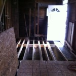 Old floor restructure